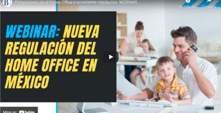 Obligaciones en el Home Office y su reciente regulación